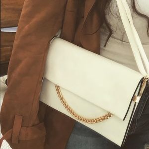 Brand new Crossbody White purse